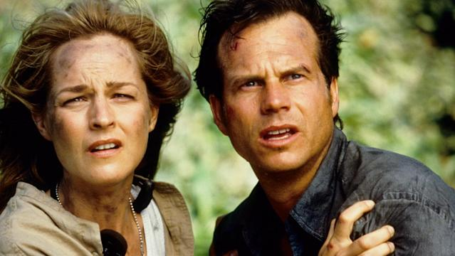 Helen Hunt and Bill Paxton in Twister (Credit: Universal)