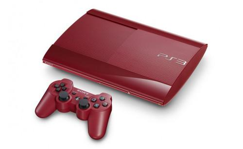 Sony preps garnet red and azurite blue superslim PS3s for Japan
