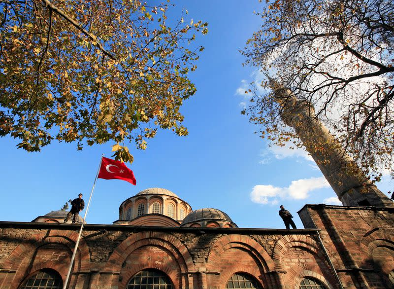 After Hagia Sophia, Turkey's historic Chora church also switched to mosque
