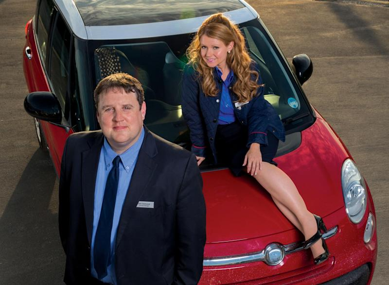 End of the road: Peter Kay and Sian Gibson as John and Kayleigh: BBC/Goodnight Vienna Productions