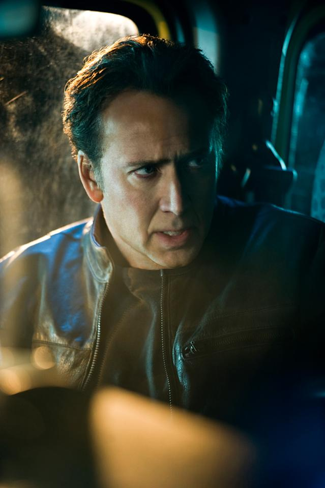 "<a href=""http://movies.yahoo.com/movie/contributor/1800018581"">Nicolas Cage</a> in Columbia Pictures' <a href=""http://movies.yahoo.com/movie/1810067768/info"">Ghost Rider: Spirit of Vengeance</a> - 2012"