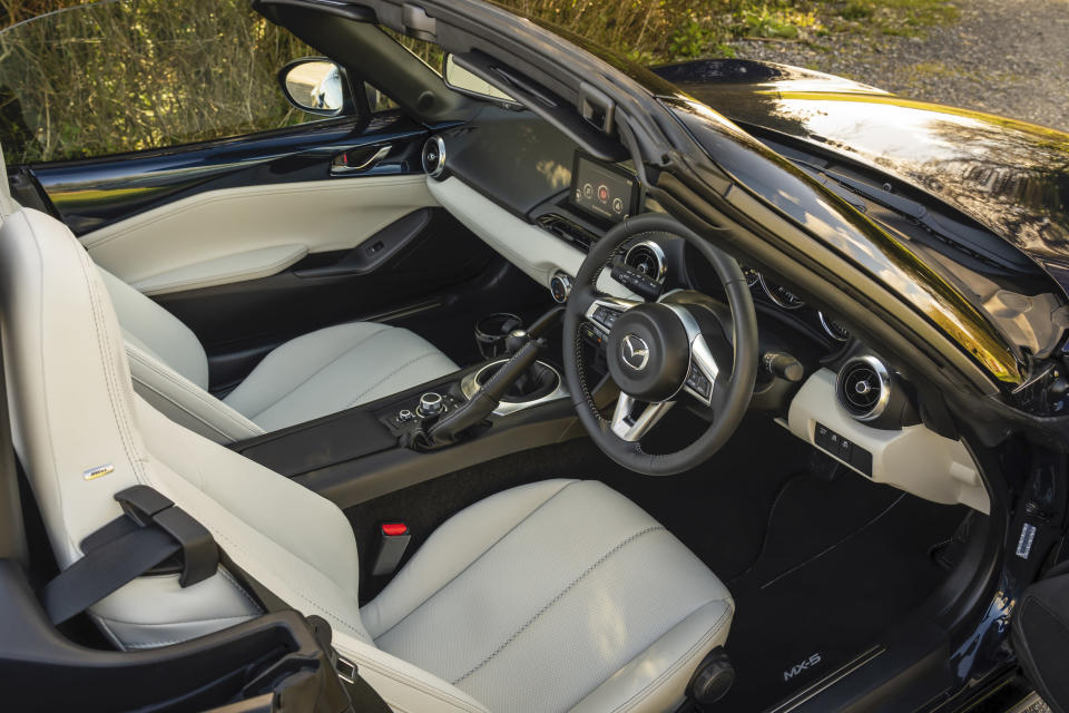 Another feature on the Sport Venture is its light leather interior
