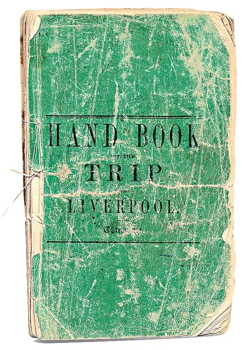The handbook for an 1845 trip - Credit: THOMAS COOK