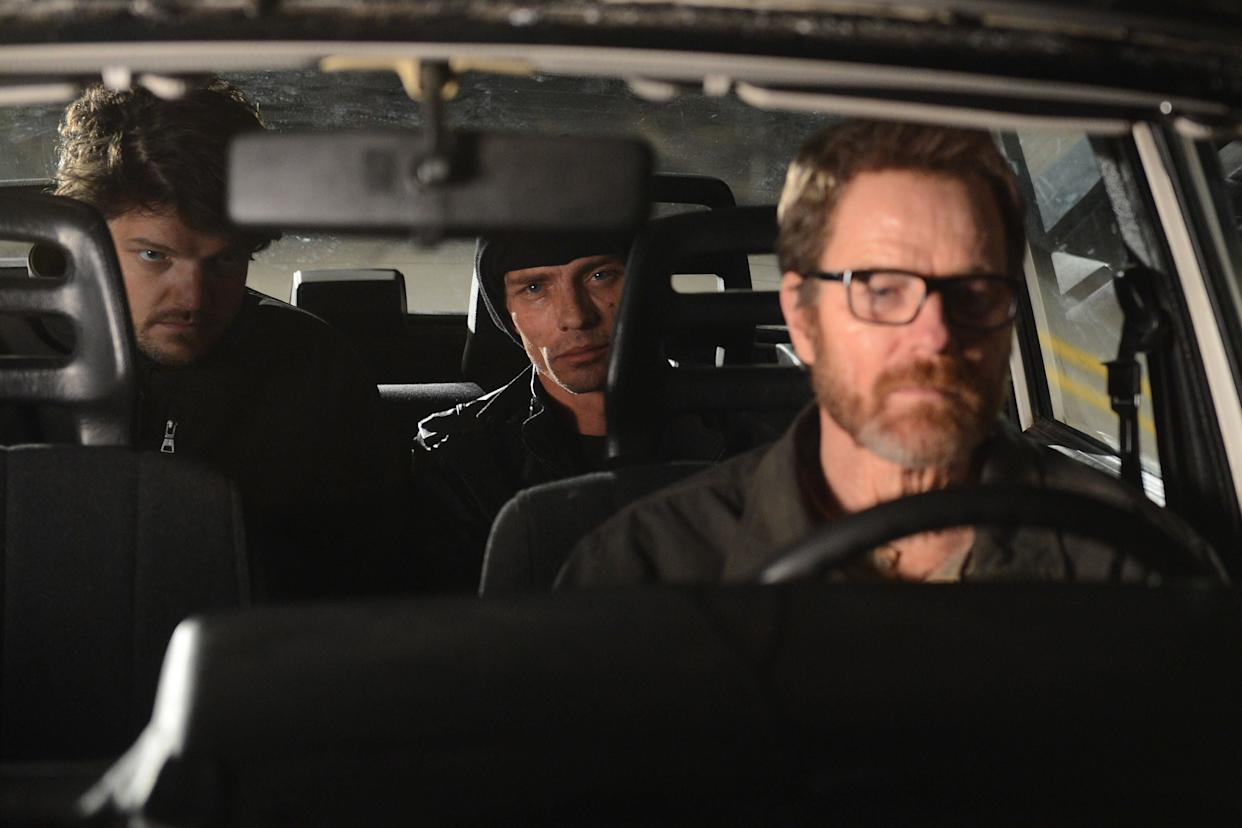 """Jesse, needing a place to crash following his escape from captivity in the finale of """"Breaking Bad,"""" turns to Badger and Skinny Pete in """"El Camino.""""&nbsp;<br><br>Not only do they hide his El Camino and get Jesse situated with food and clean clothes, they also give him a new getaway car and seem to readily hand over the money they made for playing fake snipers for Walt in the final episode."""