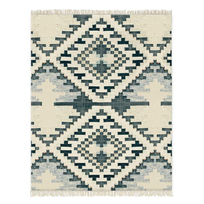 """<p><strong>West Elm</strong></p><p>westelm.com</p><p><a href=""""https://go.redirectingat.com?id=74968X1596630&url=https%3A%2F%2Fwww.westelm.com%2Fproducts%2Fcheckerboard-diamond-wool-dhurrie-rug-t3134&sref=https%3A%2F%2Fwww.housebeautiful.com%2Fshopping%2Fg33337693%2Fwest-elm-is-having-a-huge-summer-saleheres-what-to-buy%2F"""" rel=""""nofollow noopener"""" target=""""_blank"""" data-ylk=""""slk:Shop Now"""" class=""""link rapid-noclick-resp"""">Shop Now</a></p><p><del>$500—$1,400</del><strong><br>$350—$980</strong></p><p>If you want to give your home a floor-to-ceiling makeover, add a rug to your cart. This geometric style is handcrafted <em>and</em> fair-trade. A win-win. </p>"""