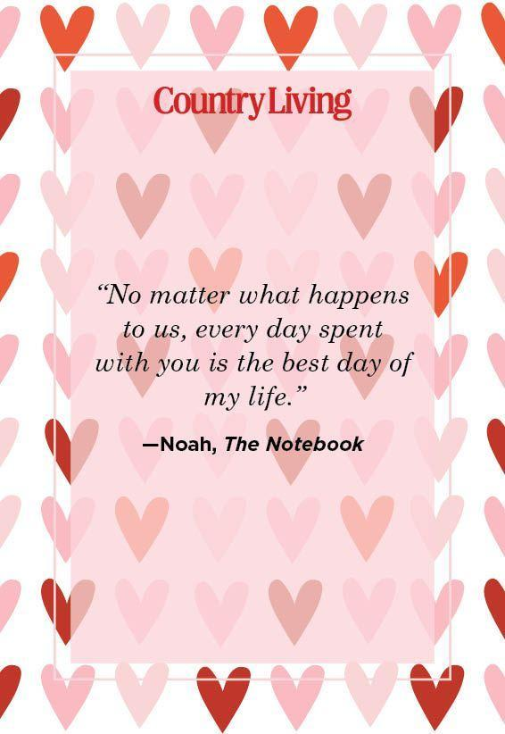 """<p>""""No matter what happens to us, every day with you is the best day of my life.""""</p>"""