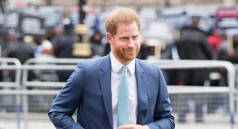 The Duke of Sussex has praised volunteers who have stepped up to help the country in lockdown (Getty Images)