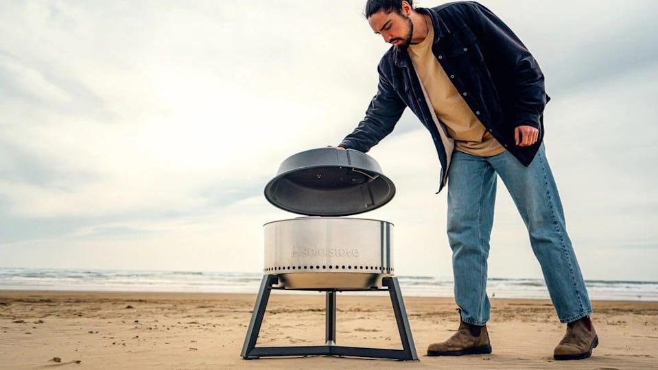 A 13-inch short stand is one of many helpful add-ons to Solo Stove's grill ultimate bundle.