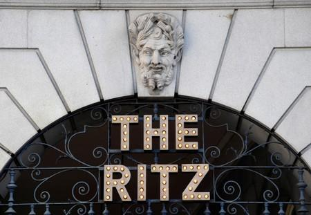 The Ritz London hotel in Piccadilly, London, Britain