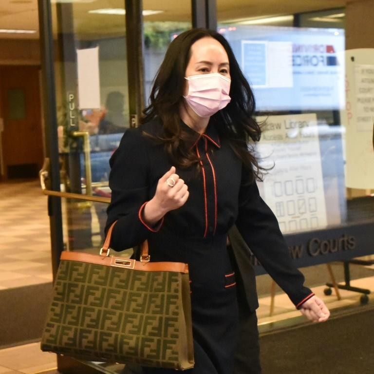 Huawei Chief Financial Officer Meng Wanzhou leaves the British Columbia Supreme Court, in Vancouver, Canada