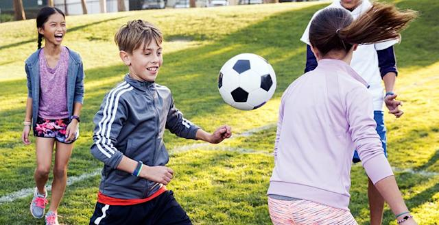 Fitbit hopes that children, too, will be inspired to move more.