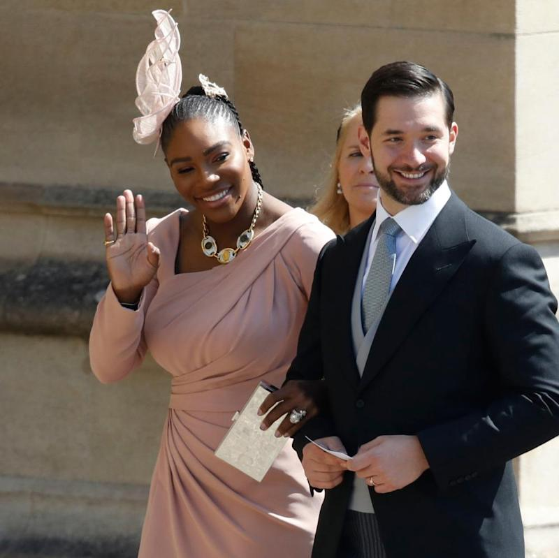 Williams and her husband, Alexis Ohanian.