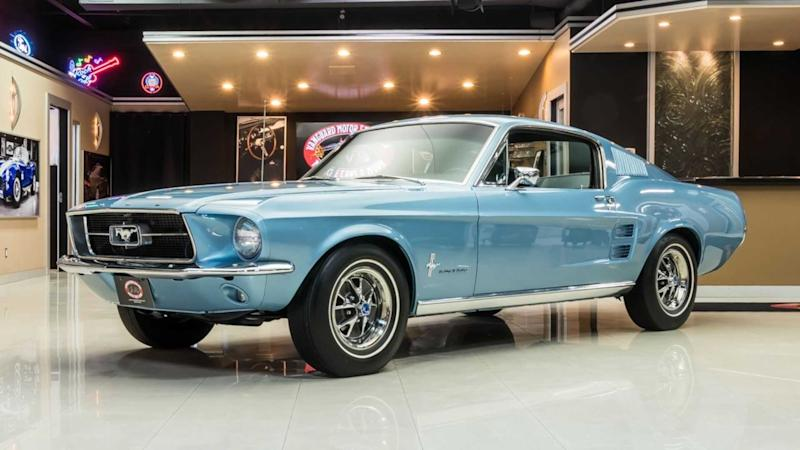 1967 Ford Mustang Keeps Things Authentic