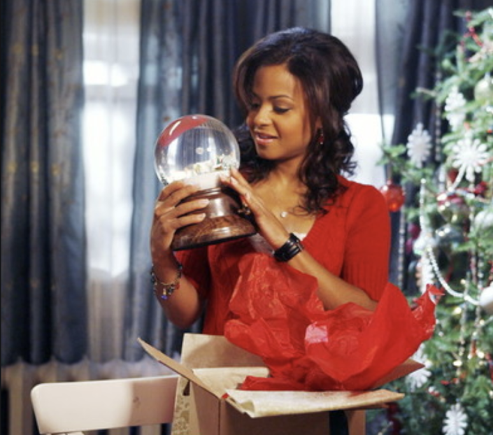 Christina Milian imagines a world transformed by the good kind of global warming in 'Snowglobe.' (Photo: Disney)