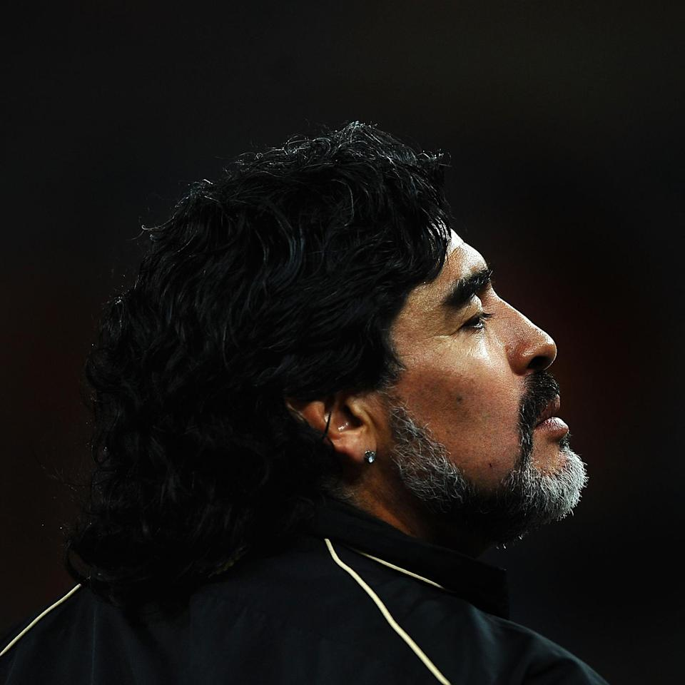 Diego Maradona (Laurence Griffiths / Getty Images)