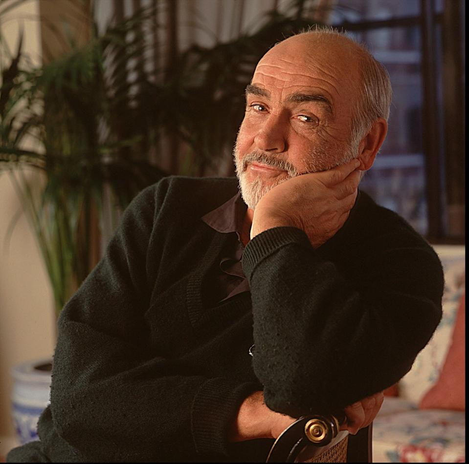 Actor Sean Connery poses for a portrait on Jan. 29, 1995. Legendary actor Sean Connery, famous for playing the original on-screen James Bond, has died at the age of 90, on October 31, 2020, prompting an outpouring of tributes for one of Britain's best-loved film heroes.