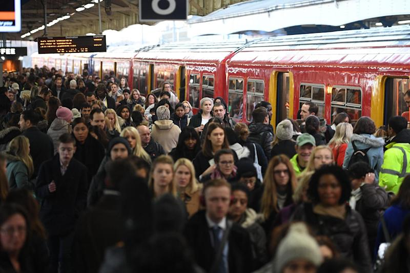 Commuters in London face some of the busiest routes: Jeremy Selwyn