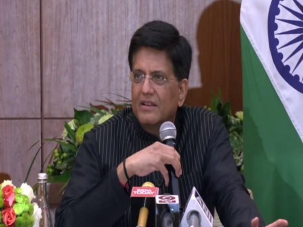 Union Minister of Commerce and Industry Piyush Goyal (Photo/ANI)