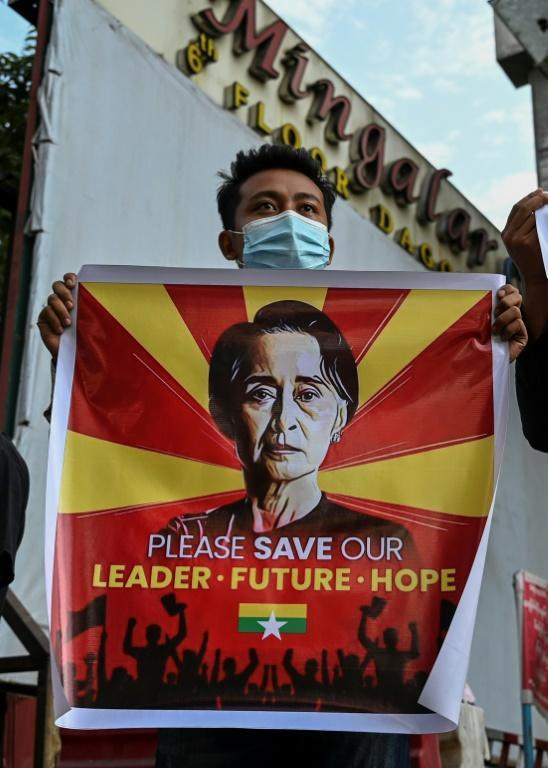 Myanmar's generals staged their putsch by detaining Suu Kyi and dozens of other top NLD leaders in pre-dawn raids