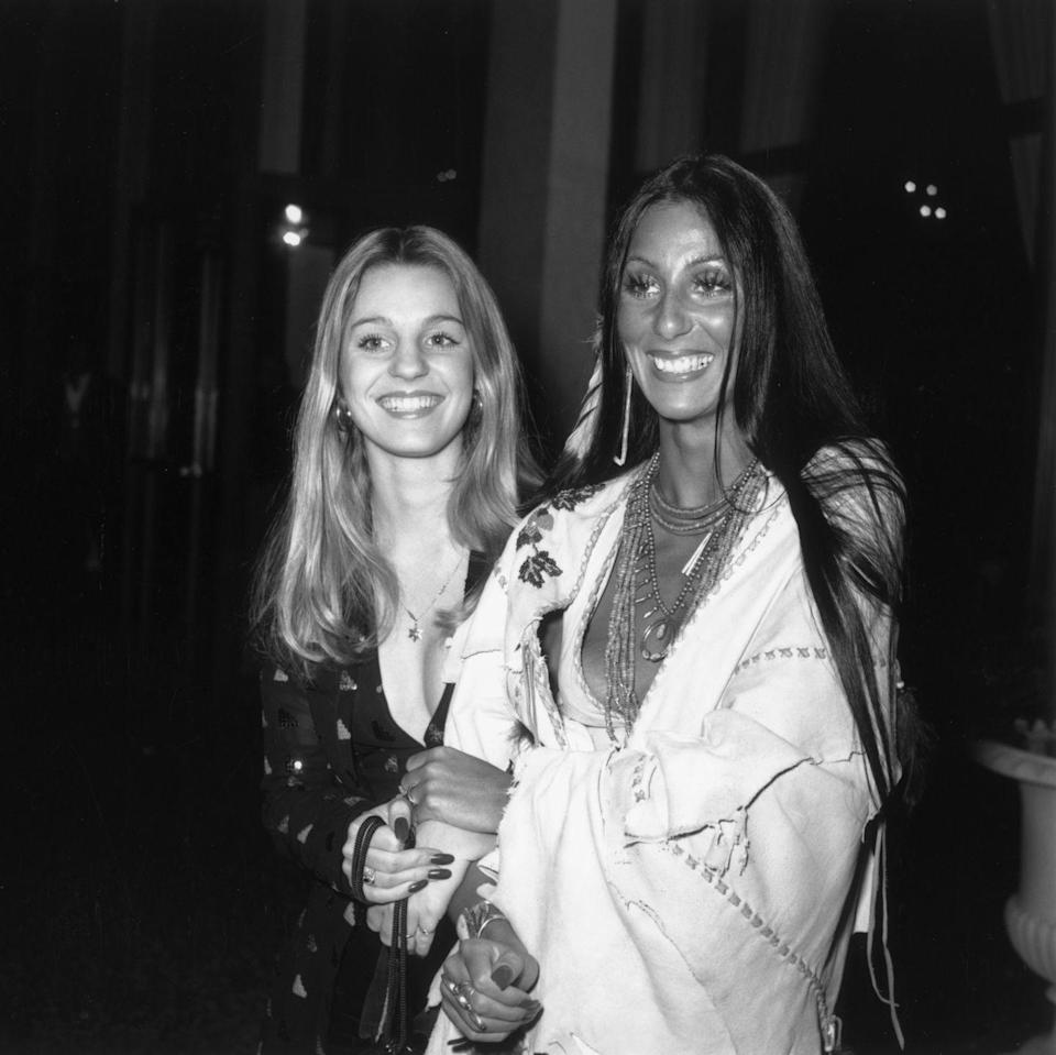 <p>The singer brings her iconic style to the streets of France, while attending the premiere of <em>Last Tango in Paris</em> with her sister, Georganne LaPiere.</p>