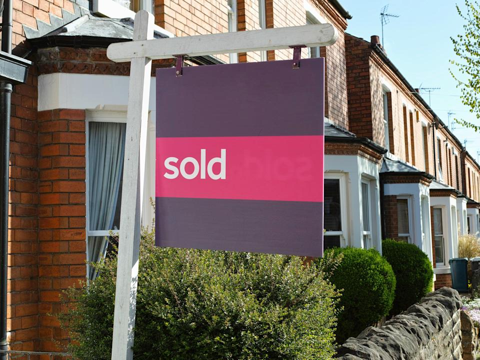 House sales surged to a record high in June as buyers rushed to beat the stamp duty deadline (Getty Images/iStockphoto)