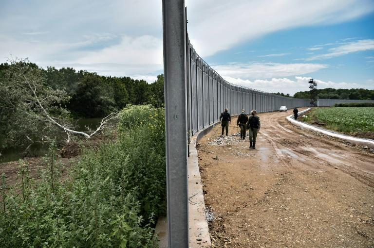 Greece has deployed cameras, radar and a 40-kilometre (25-mile) steel fence more than five metres high along part of its border with Turkey