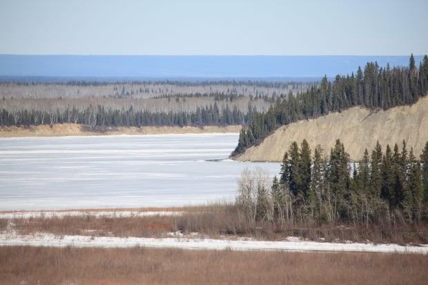 The Village of Fort Simpson has updated its flood evacuation plan. (Hannah Paulson/CBC News - image credit)