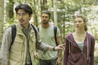 """<p>When an American woman (<em>Game of Thrones</em>' Natalie Dormer) realizes her sister has gone missing in Japan, she goes looking for her. What she finds in the mystical Aokigahara Forest is a mysterious and terrifying place haunted by the tormented souls of the dead. So, the definition of a nightmare? Cool. </p> <p><a href=""""https://www.netflix.com/title/80240691"""" rel=""""nofollow noopener"""" target=""""_blank"""" data-ylk=""""slk:Available on Netflix"""" class=""""link rapid-noclick-resp""""><em>Available on Netflix</em></a></p>"""