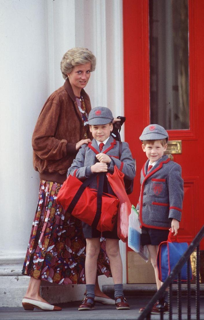 <p>The Princess was said to favor dishes with the freshest and fewest ingredients. But she also was known to treat her sons to McDonald's every now and then. Best. Mom. Ever.</p>