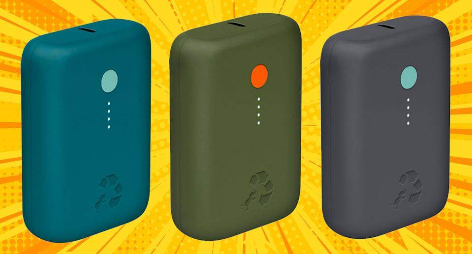 The Nimble Eco-Friendly CHAMP 10k PD Portable Charger is an essential companion for all your warm-weather activities. (Photo: Verizon/Getty)
