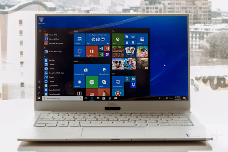 Dell XPS 13 9370 review | Full laptop from directly in front