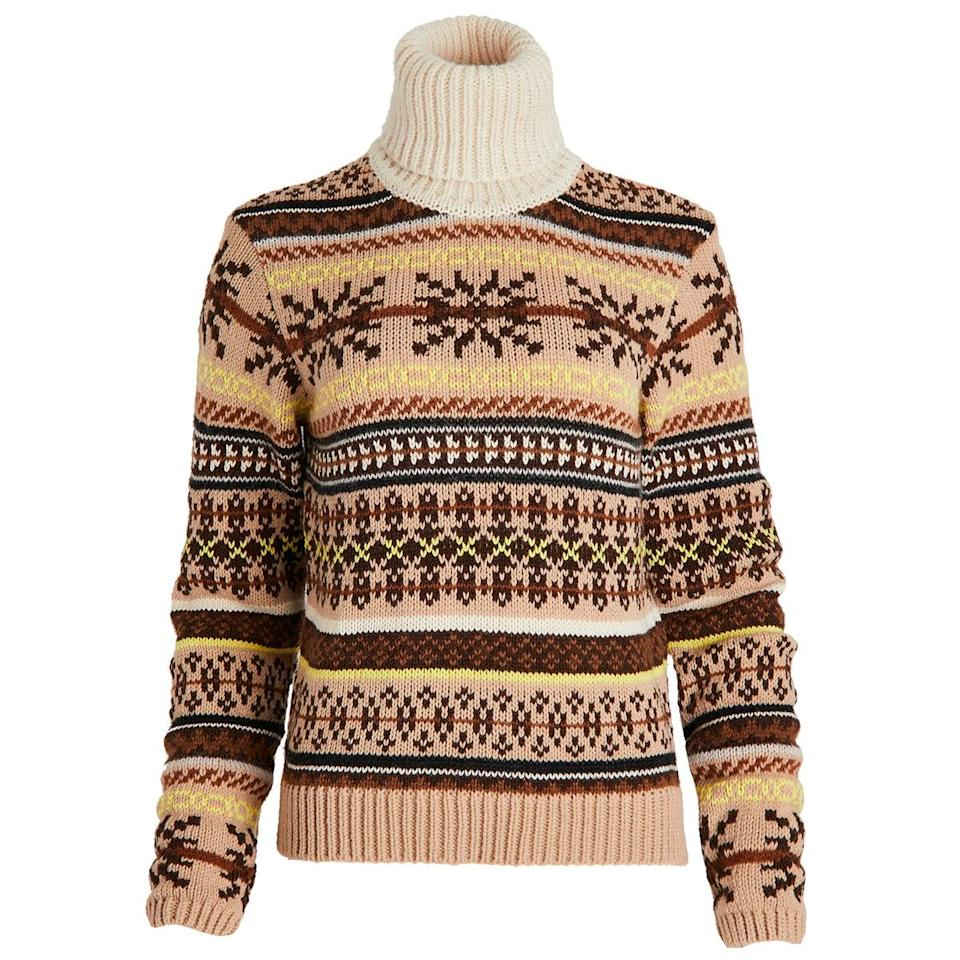 """Ugly sweater season will be here before you know it—and with this Baum und Pferdgarten number on deck, it can't come soon enough. $199, Amazon. <a href=""""https://www.amazon.com/BAUM-PFERDGARTEN-Womens-Creedence-Pullover/dp/B08GGBF62L?"""" rel=""""nofollow noopener"""" target=""""_blank"""" data-ylk=""""slk:Get it now!"""" class=""""link rapid-noclick-resp"""">Get it now!</a>"""