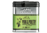 """<p><strong>Traeger</strong></p><p>amazon.com</p><p><strong>$9.95</strong></p><p><a href=""""https://www.amazon.com/dp/B0725M6LW8?tag=syn-yahoo-20&ascsubtag=%5Bartid%7C10055.g.36232057%5Bsrc%7Cyahoo-us"""" rel=""""nofollow noopener"""" target=""""_blank"""" data-ylk=""""slk:Shop Now"""" class=""""link rapid-noclick-resp"""">Shop Now</a></p><p>No sauce needed with this box! The addition of honey powder turns this rub into a sticky glaze once cooked with a mild, sweet and savory flavor that complements chicken perfectly. </p><p><strong>RELATED:</strong> <a href=""""https://www.goodhousekeeping.com/food-recipes/easy/g755/chicken-breast-recipes/"""" rel=""""nofollow noopener"""" target=""""_blank"""" data-ylk=""""slk:70 Chicken Breast Recipes That Are Anything But Boring"""" class=""""link rapid-noclick-resp"""">70 Chicken Breast Recipes That Are Anything But Boring</a></p>"""
