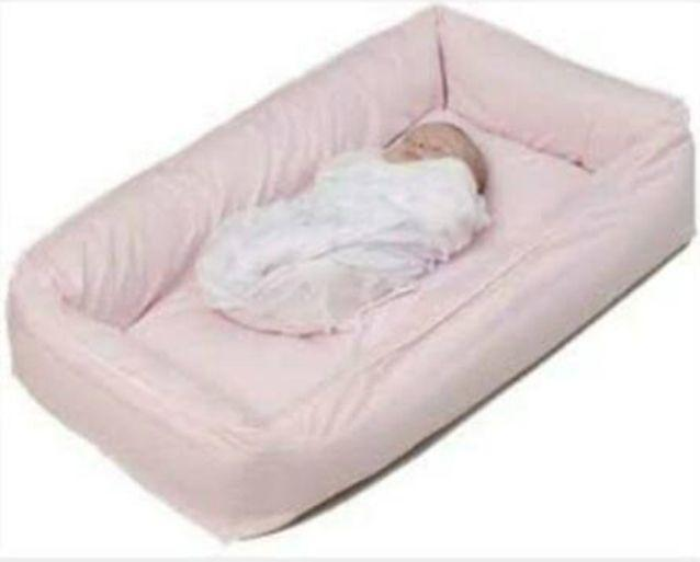 Ms Wowk said this is a similar cot insert to what her daughter was using. Photo: Facebook/Awareness for Zara Skye