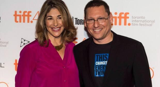 Naomi Klein and Avi Lewis on the red carpet during the Toronto International Film Festival in 2015.