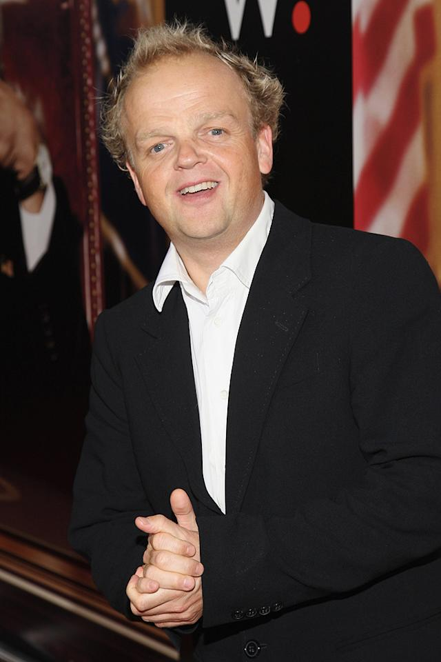 "<a href=""http://movies.yahoo.com/movie/contributor/1804744761"">Toby Jones</a> at the New York premiere of <a href=""http://movies.yahoo.com/movie/1810026489/info"">W.</a> - 10/14/2008"
