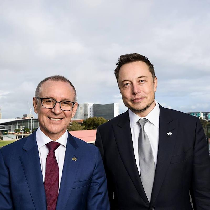 'Australia rocks' after battery deal: Musk
