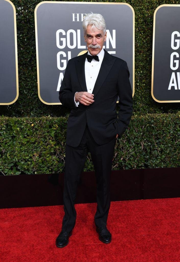 <p>Sam Elliott attends the 76th Annual Golden Globe Awards at the Beverly Hilton Hotel in Beverly Hills, Calif., on Jan. 6, 2019. (Photo: Getty Images) </p>