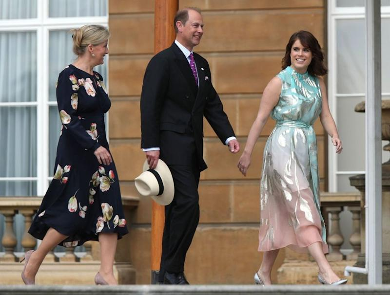 Sophie, Countess of Wessex, Prince Edward and Princess Eugenie | Yui Mok - WPA Pool/Getty