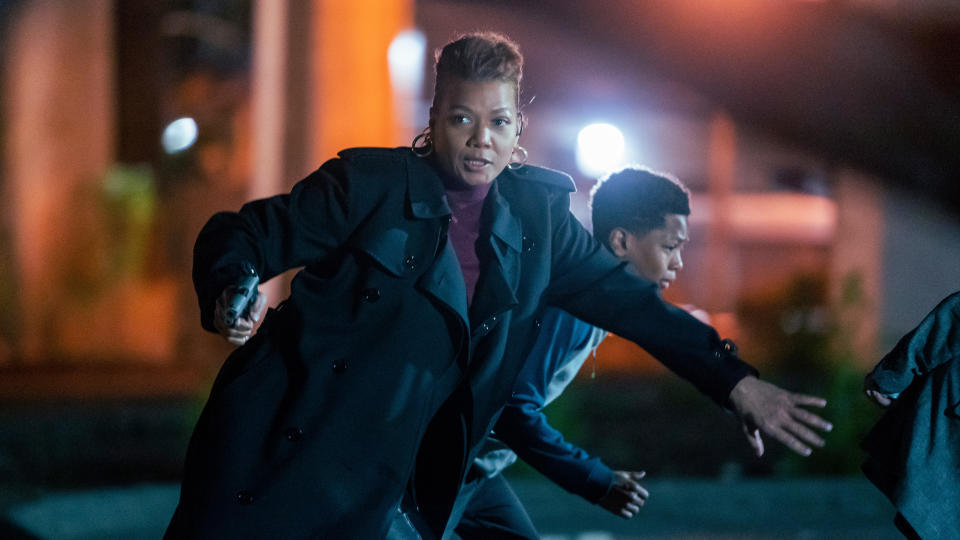 Queen Latifah takes on the lead role in this TV reboot of the 'Equalizer' franchise. (Barbara Nitke/CBS/Universal Television/Sky UK)