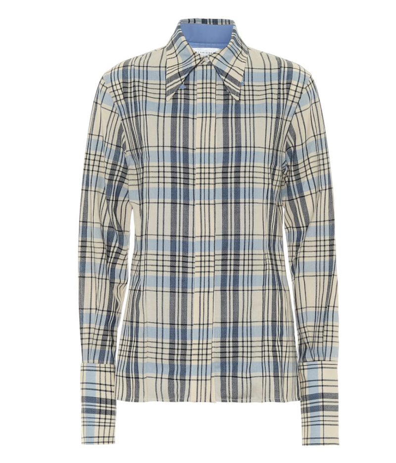 Victoria Beckham shirt. (PHOTO: MyTheresa)