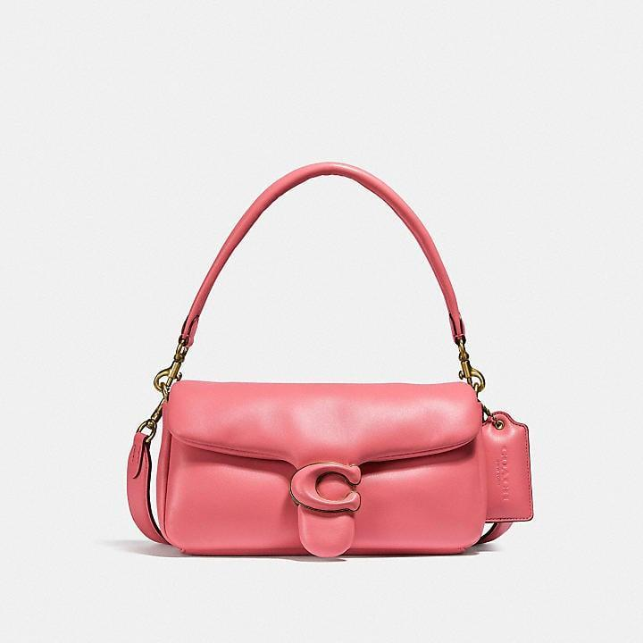 <p>Our editors are obsessing over the puffy design of this <span>Coach Pillow Tabby Shoulder Bag</span> ($495).</p>