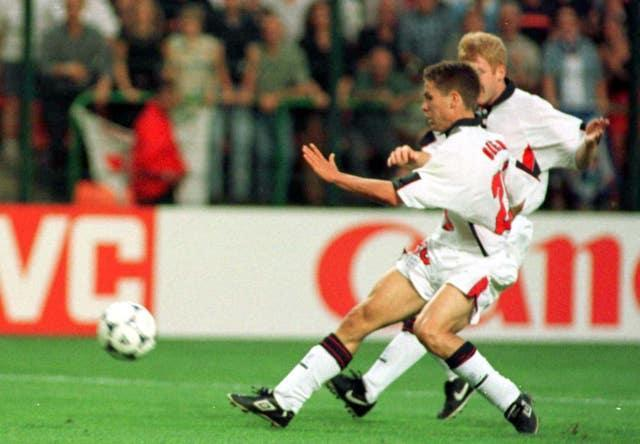 Michael Owen became a star at the 1998 World Cup