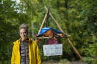 Carola Rackete has not had a fixed address for nine years and survives on just a few hundred euros a month in a bid to live as frugally as possible