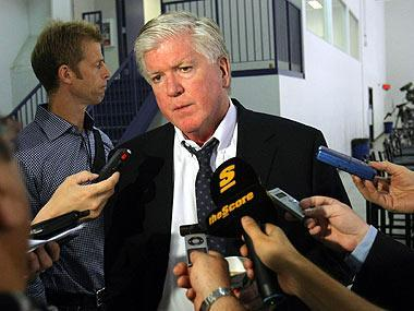 Leafs GM Brian Burke isn't a fan of the chaos on deadline day, and he has to figure out whether he's buying or selling