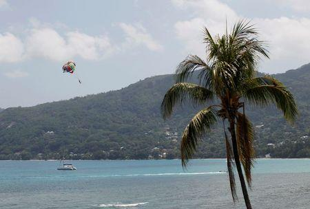 FILE PHOTO: A general view of Seychelles beach