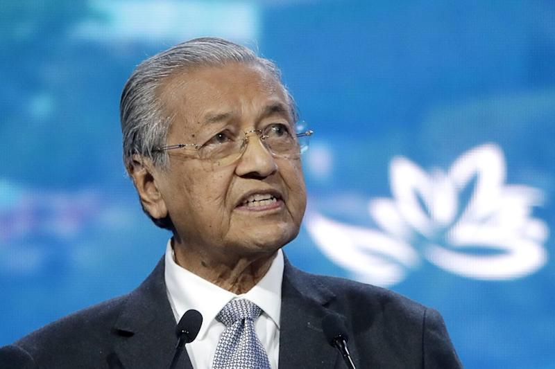 Prime Minister Tun Dr Mahathir Mohamad said that Malaysia's largest ethnic group should have learned their lesson from history, adding that it was unfortunate that they had not but continued to proclaim themselves as 'tuan', the Malay word for 'master'. — AFP pic