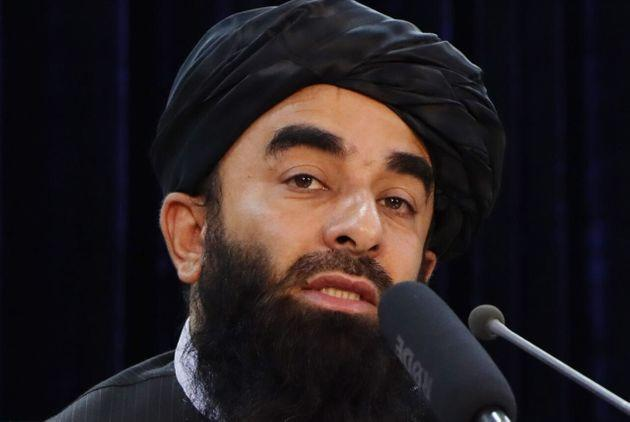 KABUL, AFGHANISTAN - AUGUST 24: Taliban spokesperson Zabihullah Mujahid holds a press conference in Kabul, Afghanistan on August 24, 2021. (Photo by Haroon Sabawoon/Anadolu Agency via Getty Images) (Photo: Anadolu Agency via Getty Images)