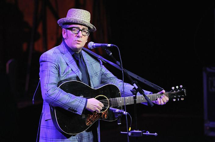 <p>Elvis Costello has a better ring to it than Declan Patrick MacManus, don't you think? The singer took his stage name from Elvis Presley and his father's stage name, Day Costello. </p>