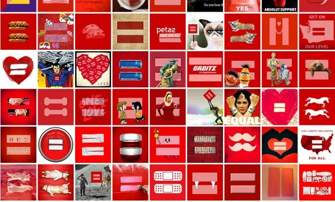 The Story Behind The Gay Marriage Symbol Taking Over Facebook